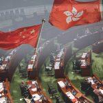 ฮ่องกงผ่านกฎหมายเพลงชาติจีน