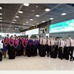 การบินไทยรับคนไทยจากสหราชอาณาจักรและไอร์แลนด์กลับบ้าน