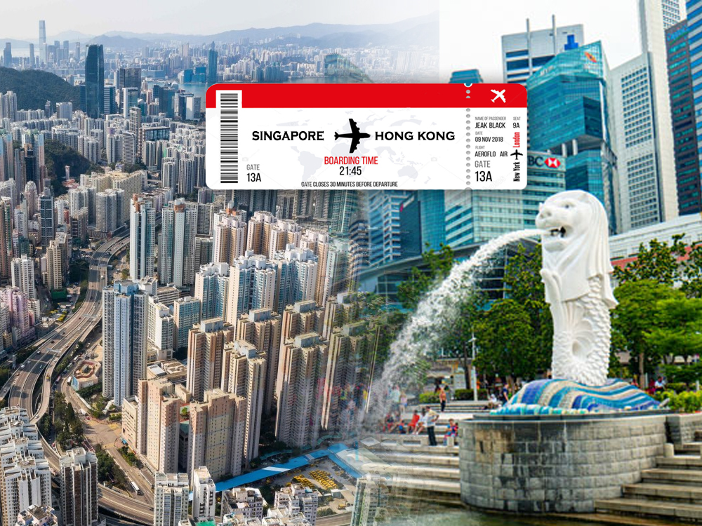 singapore hongkong