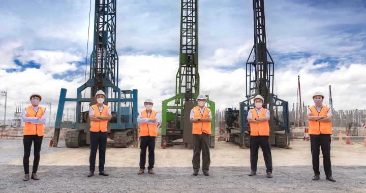 FPIT and Mitsui Fudosan Asia (Thailand) celebrate the start of the first warehouse construction at Bang Na 2 Logistics Park (1)